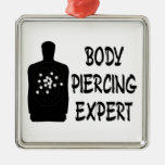 Experto Piercing del cuerpo Ornamentos De Navidad