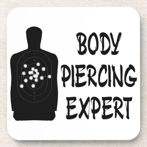 Experto Piercing del cuerpo Posavasos