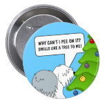 Explain the meaning of Christmas to your dog now! Button
