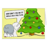 Explain the meaning of Christmas to your dog now! Cards