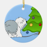 Explain the meaning of Christmas to your dog now! Christmas Ornaments