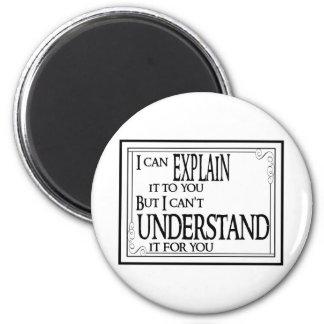 Explain vs Understand Magnet