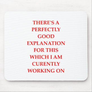 EXPLANATION MOUSE PAD