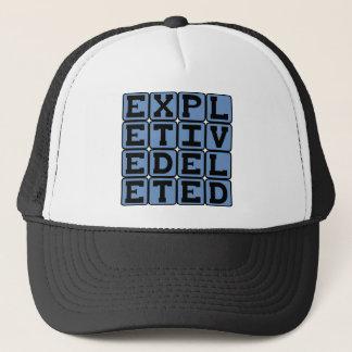 Expletive Deleted, Censorship Trucker Hat