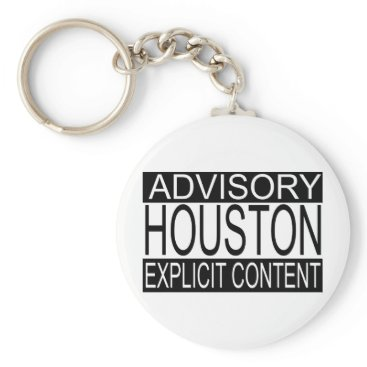 USA Themed Explicit Content Houston (Keychain Keychain