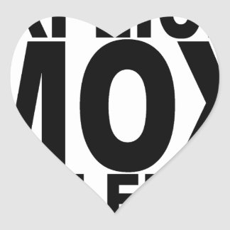EXPLICIT MOX VIOLENCE T-Shirts.png Heart Sticker