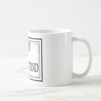 Explique contra entienden taza de café