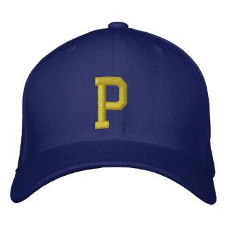 Expliqúelo casquillo de la bola de la letra inicia gorra de béisbol bordada