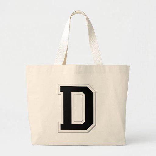 Expliqúelo la letra inicial D en la bolsa de asas
