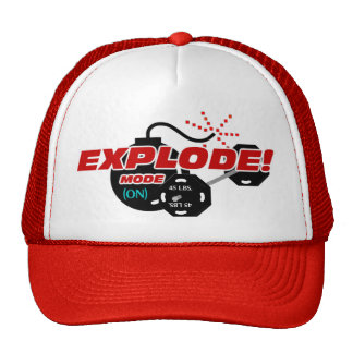 Explode Mode Weightlifting Hat
