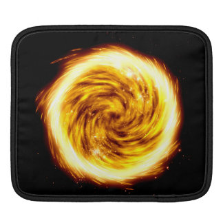 Exploded hot fire orb iPad pads Sleeve For iPads