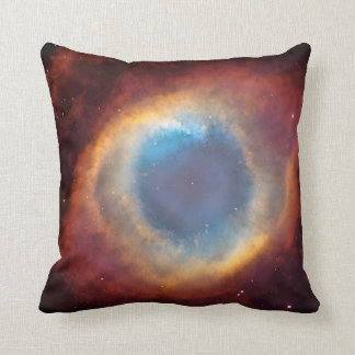 exploded star throw pillow