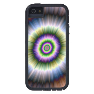 Exploding Blue Green and Pink iPhone SE/5/5s Case