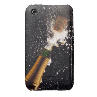 Exploding champagne bottle iPhone 3 Case-Mate case
