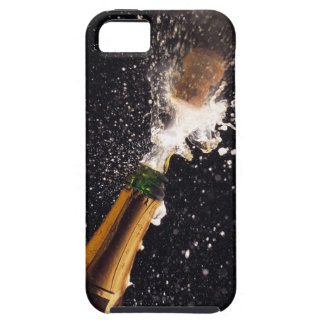 Exploding champagne bottle iPhone 5 cases