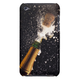 Exploding champagne bottle iPod touch Case-Mate case