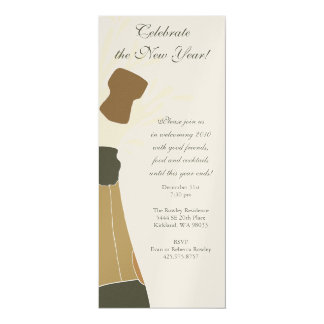 Exploding Champagne Party Invitation