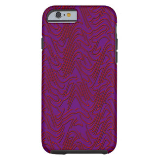 Exploding Chevron Tough iPhone 6 Case