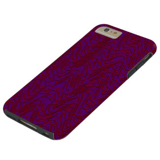 Exploding Chevron Tough iPhone 6 Plus Case
