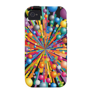 Exploding Colors iPhone  Case-Mate Case Case-Mate iPhone 4 Case