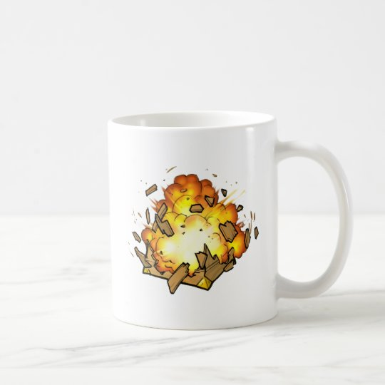 Exploding Crate Mug