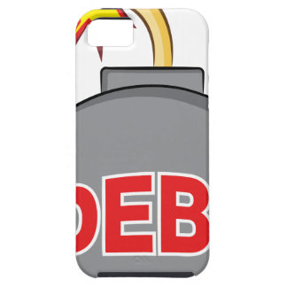 Exploding Debt Bomb Cartoon iPhone SE/5/5s Case