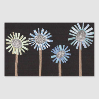 Exploding Flowers Stickers