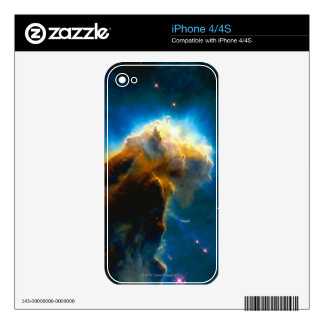 Exploding Gaseous Globule iPhone 4S Skins