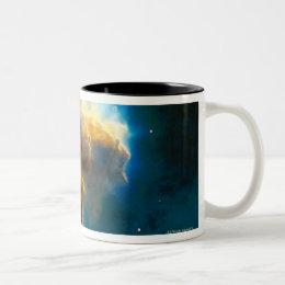 Exploding Gaseous Globule Two-Tone Coffee Mug