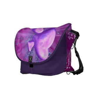 Exploding Hearts Messenger Bag