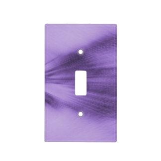 Exploding Lavender Light Switch Cover
