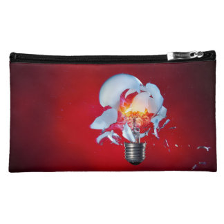 Exploding Light Bulb Cosmetic Bag