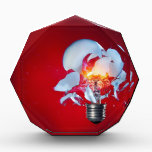"""Exploding Lightbulb Award<br><div class=""""desc"""">Exploding Lightbulb</div>"""