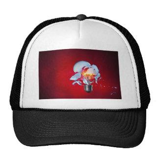 Exploding Lightbulb Trucker Hat