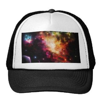 Exploding Nebula Trucker Hat