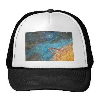Exploding Planet Trucker Hat