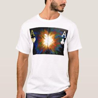 Exploding Pocket Aces Bullets Las Vegas Casino T-Shirt