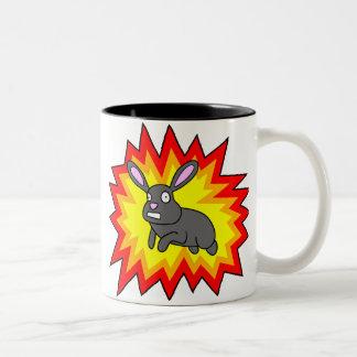 Exploding Rabbit Mug