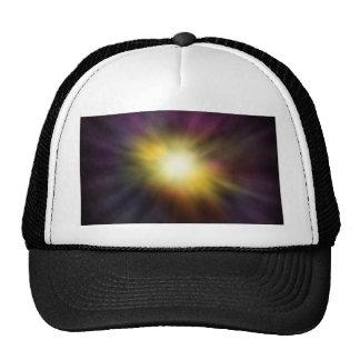 Exploding Star Digital Space Artwork Trucker Hat