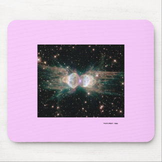 Exploding Star Mouse Pad