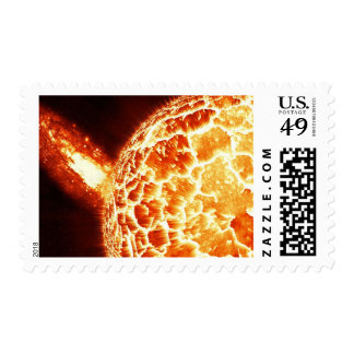 Exploding Star Space Stamp