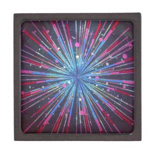 Exploding Supernova Jewelry Box