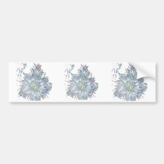 Exploding Thistle Bumper Sticker