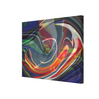 Exploding Universe Abstract II Wrapped Canvas