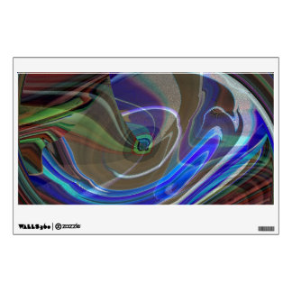Exploding Universe Abstract Wall Decal