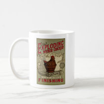 Exploding Witcker Chicken Finishing School Coffee Mug