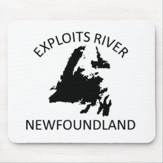 Exploits River Mousepads