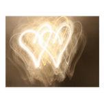 Exploración de la luz: corazones postales
