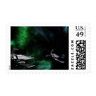 exploración espacial profunda sellos