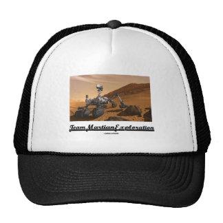 Exploración marciana del equipo (curiosidad Rover  Gorras